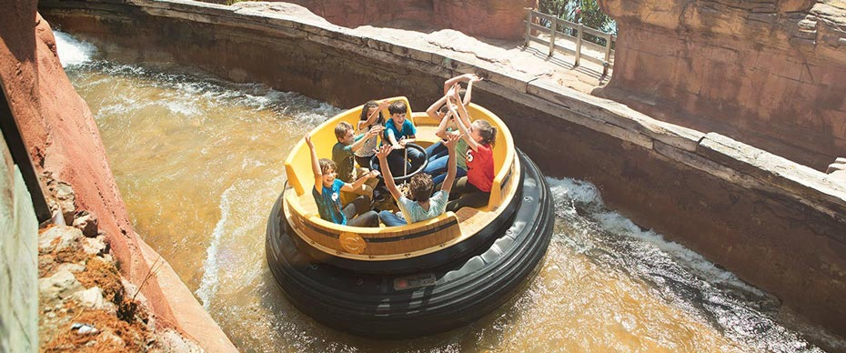 Grand Canyon Rapids at PortAventura Park
