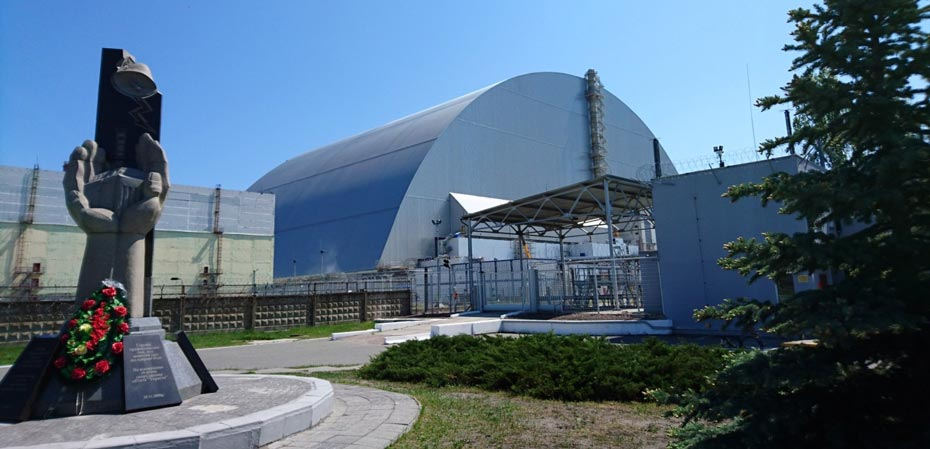 The New Safe Confinement Shelter in Chernobyl